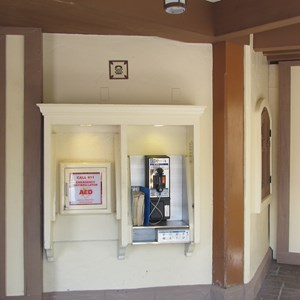 1 of 1: Fantasyland - Peter Pan area restrooms now closed