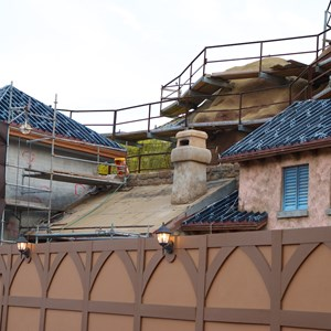 12 of 23: Fantasyland - Seven Dwarfs Mine Train coaster construction