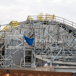 23 of 23: Fantasyland - Seven Dwarfs Mine Train coaster construction