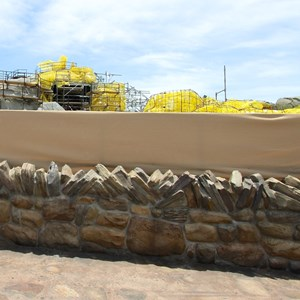 10 of 12: Fantasyland - Seven Dwarfs Mine Train coaster construction