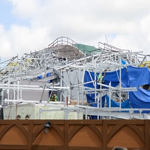 2 of 20: Fantasyland - Seven Dwarfs Mine Train coaster construction