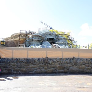 7 of 14: Fantasyland - Seven Dwarfs Mine Train coaster construction