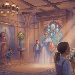 2 of 2: Fantasyland - Princess Fairytale Hall concept art