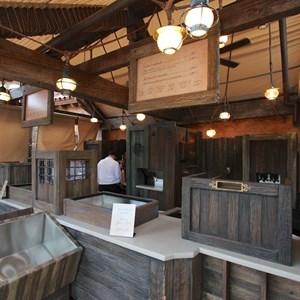 3 of 8: Fantasyland - Prince Eric's Village Market pre-opening