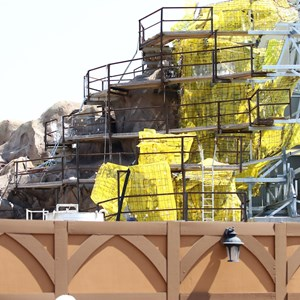 27 of 28: Fantasyland - Seven Dwarfs Mine Train coaster construction