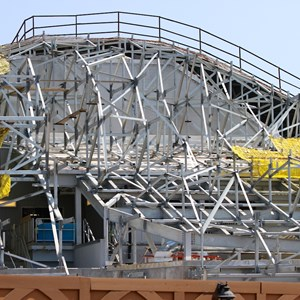 28 of 28: Fantasyland - Seven Dwarfs Mine Train coaster construction