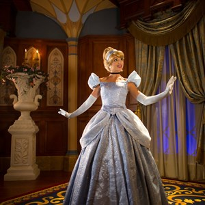 3 of 4: Fantasyland - Inside Princess Fairytale Hall - Cinderella