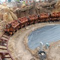 Fantasyland - Seven Dwarfs Mine Train completes first drop