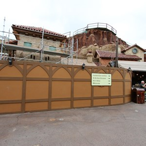 6 of 15: Fantasyland - Seven Dwarfs Mine Train coaster construction
