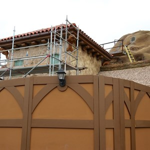 7 of 15: Fantasyland - Seven Dwarfs Mine Train coaster construction
