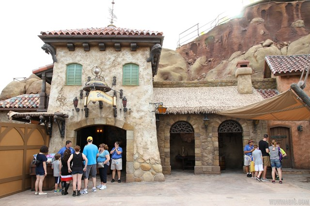 The latest addition to New Fantasyland - DVC kiosk