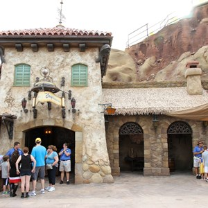 9 of 19: Fantasyland - Seven Dwarfs Mine Train coaster construction