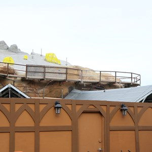 18 of 19: Fantasyland - Seven Dwarfs Mine Train coaster construction