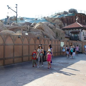 2 of 22: Fantasyland - Seven Dwarfs Mine Train coaster construction