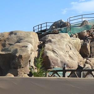 6 of 22: Fantasyland - Seven Dwarfs Mine Train coaster construction