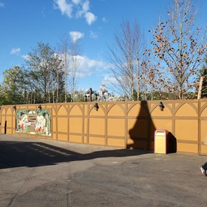 18 of 22: Fantasyland - Seven Dwarfs Mine Train coaster construction