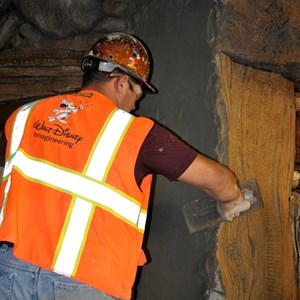 2 of 10: Fantasyland - Seven Dwarfs Mine Train theming sneak peek