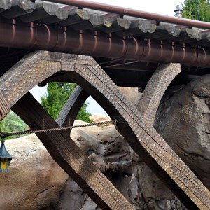 1 of 10: Fantasyland - Seven Dwarfs Mine Train theming sneak peek