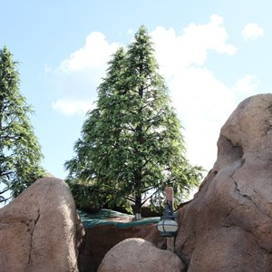 8 of 14: Fantasyland - Seven Dwarfs Mine Train coaster construction