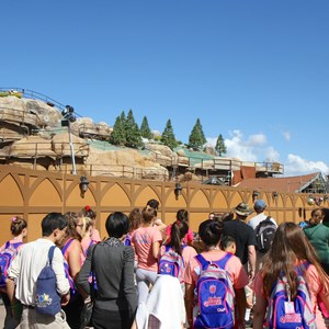 14 of 14: Fantasyland - Seven Dwarfs Mine Train coaster construction
