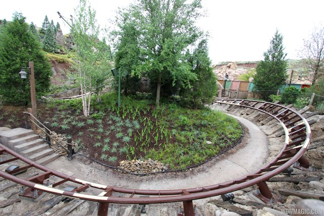 More walls down at Seven Dwarfs Mine Train coaster
