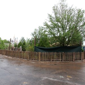 4 of 13: Fantasyland - Seven Dwarfs Mine Train coaster more walls down