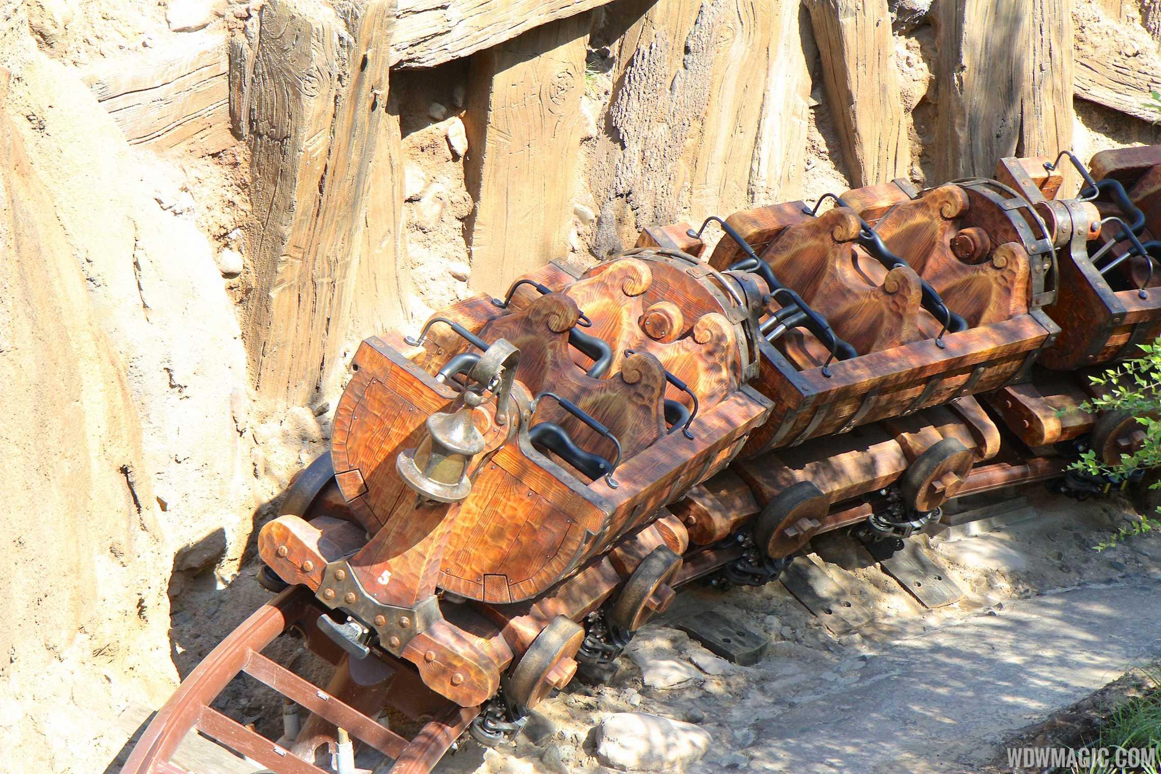 Seven Dwarfs Mine Train car