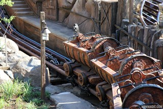 Train on the lift hill