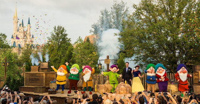 Fantasyland - Seven Dwarfs Mine Train dedication ceremony