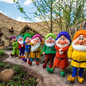 2 of 2: Fantasyland - Seven Dwarfs Mine Train dedication ceremony