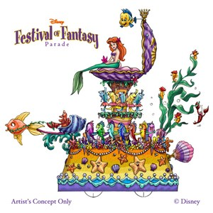5 of 5: Disney Festival of Fantasy Parade - Festival of Fantasy Parade concept art