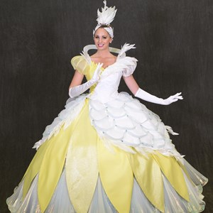 9 of 12: Disney Festival of Fantasy Parade - Disney Festival of Fantasy Parade Costumes - Swan Court