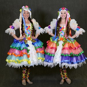 10 of 12: Disney Festival of Fantasy Parade - Disney Festival of Fantasy Parade Costumes - Floral Maidens
