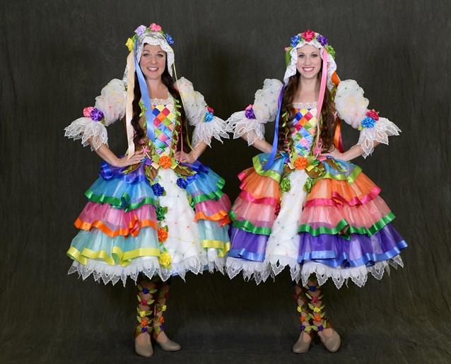 Disney Festival of Fantasy Parade - Disney Festival of Fantasy Parade Costumes - Floral Maidens