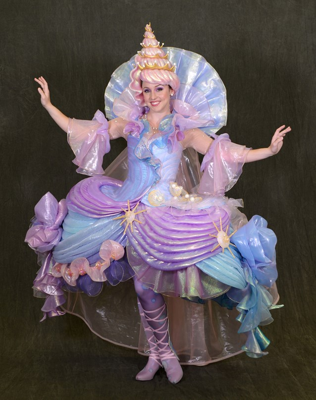 Disney Festival of Fantasy Parade - Disney Festival of Fantasy Parade Costumes - Seashell Girl