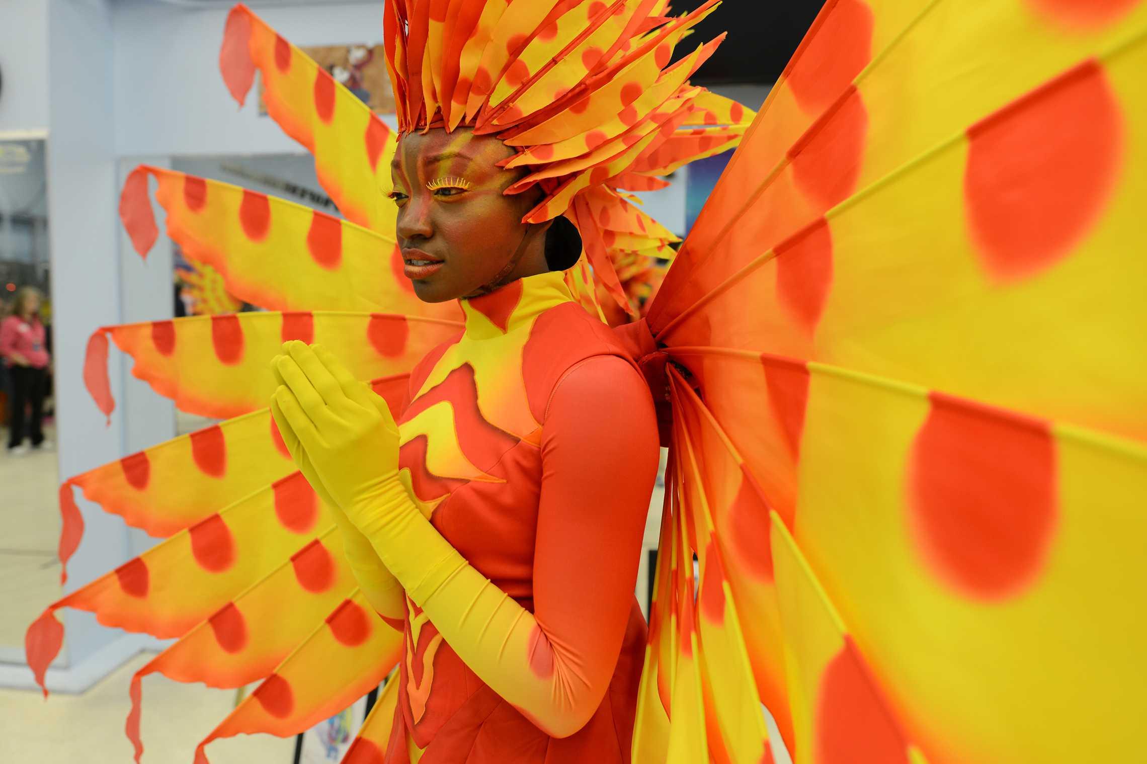 Disney Festival of Fantasy Parade Costumes - Lion Fish