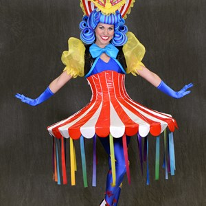 6 of 12: Disney Festival of Fantasy Parade - Disney Festival of Fantasy Parade Costumes - Cha Cha Girl