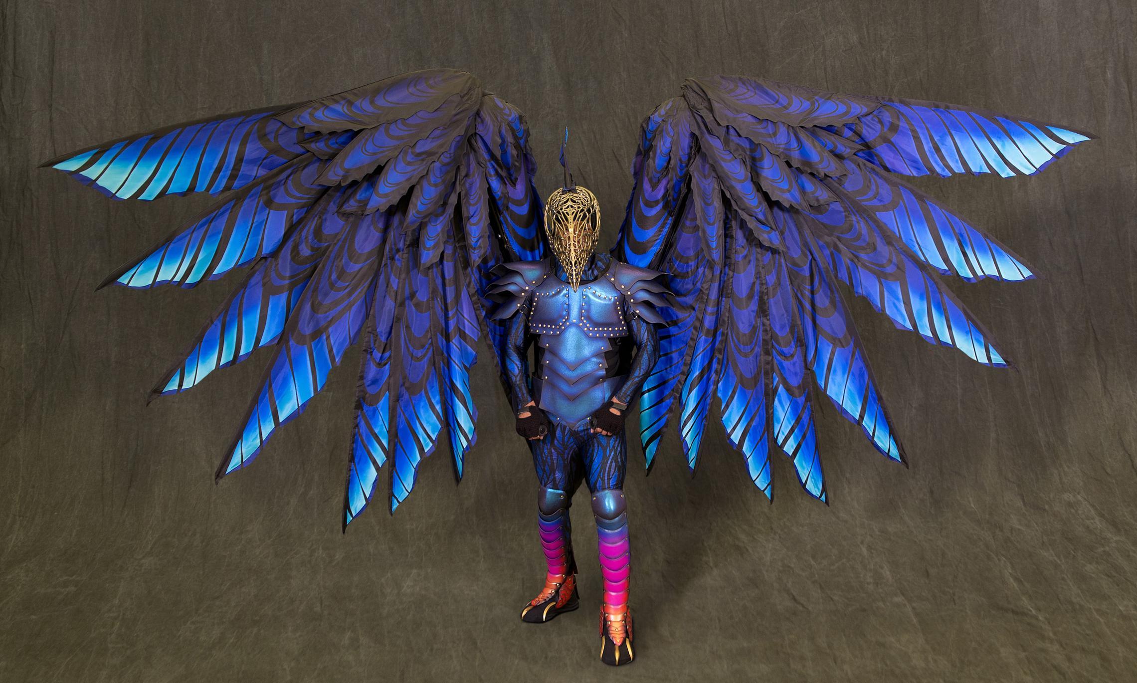 Disney Festival of Fantasy Parade Costumes - Raven