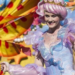 5 of 8: Disney Festival of Fantasy Parade - Disney Festival of Fantasy costume rehearsal