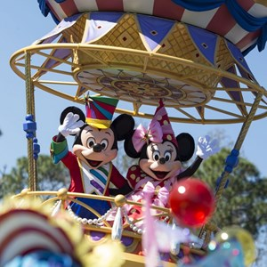 1 of 8: Disney Festival of Fantasy Parade - Disney Festival of Fantasy costume rehearsal