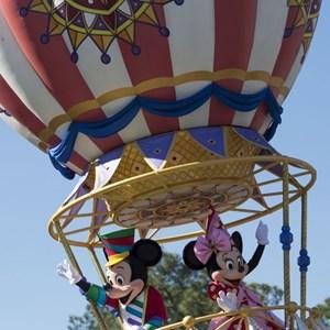 3 of 8: Disney Festival of Fantasy Parade - Disney Festival of Fantasy costume rehearsal