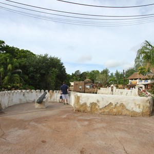 6 of 40: Festival of the Lion King - New Harambe Theatre area in Africa - Overlook in the new area