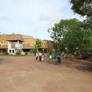 11 of 40: Festival of the Lion King - New Harambe Theatre area in Africa - The Harambe Theatre