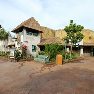 13 of 40: Festival of the Lion King - New Harambe Theatre area in Africa - The Harambe Theatre
