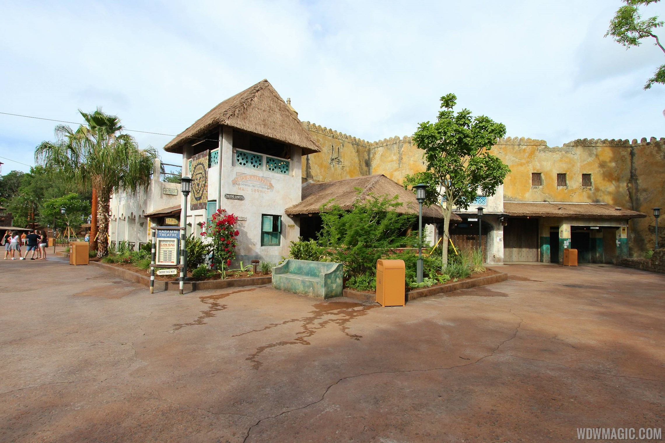 New Harambe Theatre area in Africa