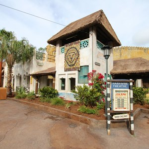 21 of 40: Festival of the Lion King - New Harambe Theatre area in Africa - The Harambe Theatre