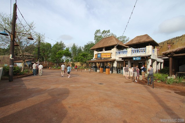 Festival of the Lion King - New Harambe Theatre area in Africa - Wide view of the theatre area