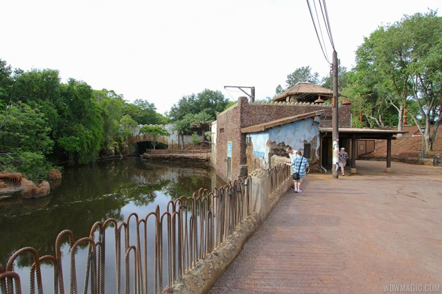 Festival of the Lion King - New Harambe Theatre area in Africa - Restroom area