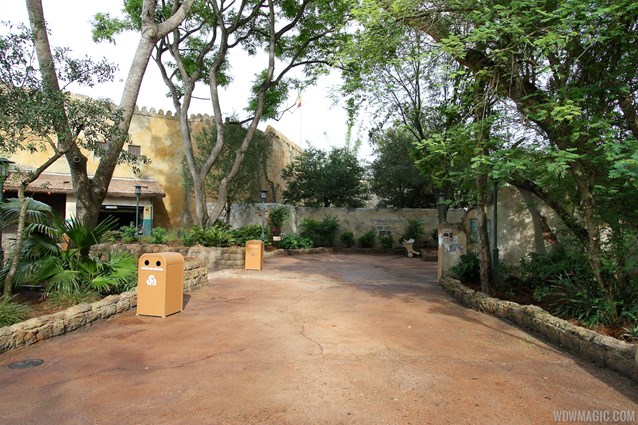 Festival of the Lion King - New Harambe Theatre area in Africa - Stroller Parking area