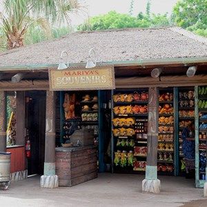 20 of 40: Festival of the Lion King - New Harambe Theatre area in Africa - Mariya's Souvenirs merchandise kiosk